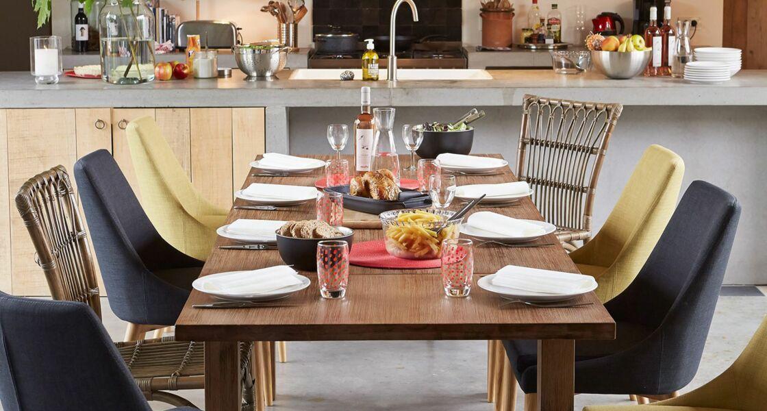 si la place le permet au moins 15 m2 rien ne vous empche dinstaller votre espace salle manger dans la cuisine cest sympa de prparer les repas