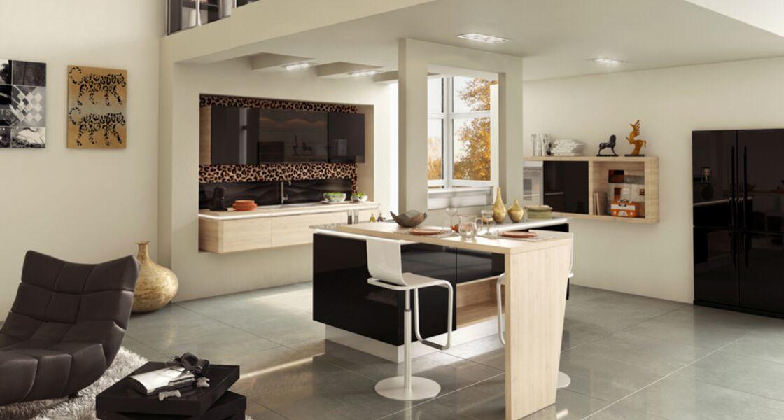 Tout pour une cuisine - salle à manger contemporaine : Femme ... Cuisine Et Salle A Manger on