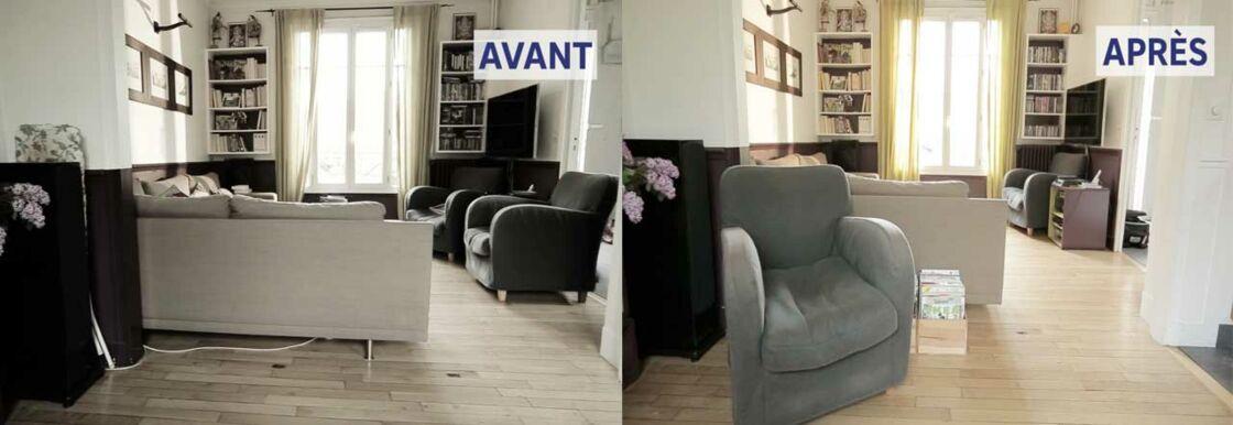 comment bien ranger son salon femme actuelle le mag. Black Bedroom Furniture Sets. Home Design Ideas