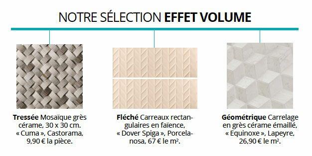 Des Dcors En Relief Ils Bousculent Nos Habitudes Ces Carreaux Dont La Surface Est Volume Contemporains Prsentent 3D