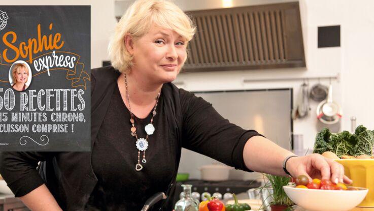 Sophie Dudemaine : ses astuces pour une cuisine express