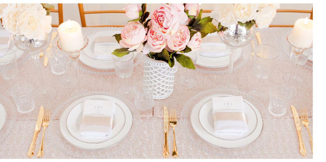 Mariage, baptême... 3 décorations de table tendance et leurs menus ...