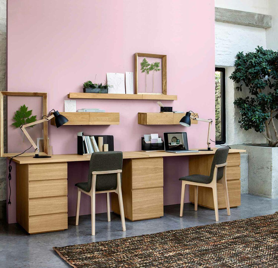Bureau Plan De Travail comment bien aménager un bureau chez-soi ? : femme actuelle