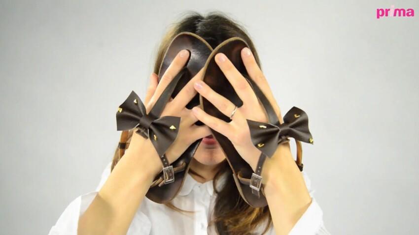 Custom mode : des tongs noeud noeud