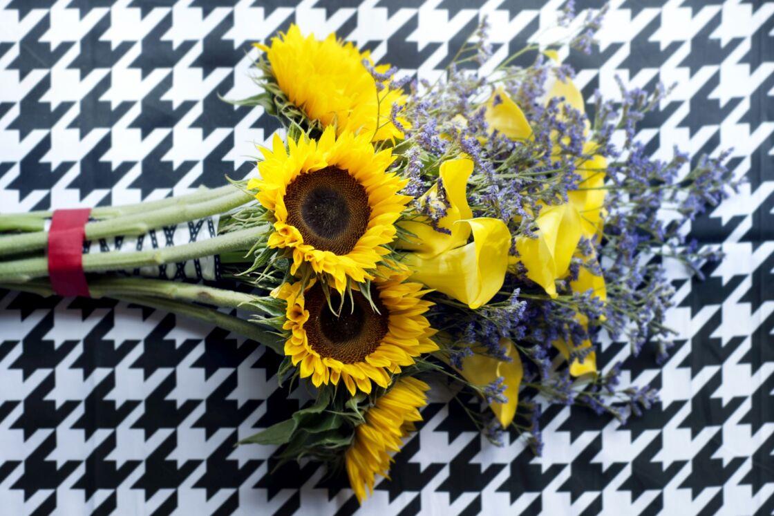 tournesols : les bonnes associations pour un bouquet original