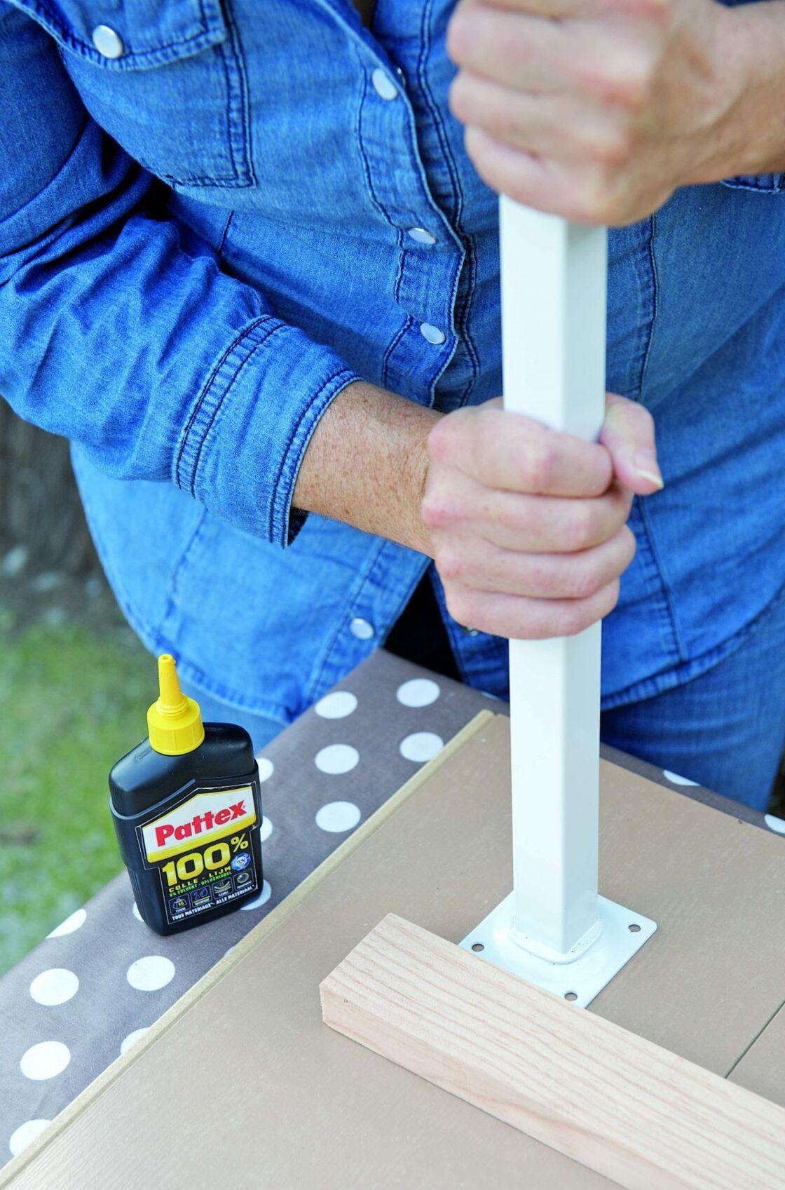 Faire Une Tete De Lit Avec Du Parquet Flottant diy récup : fabriquer une table avec un reste de parquet