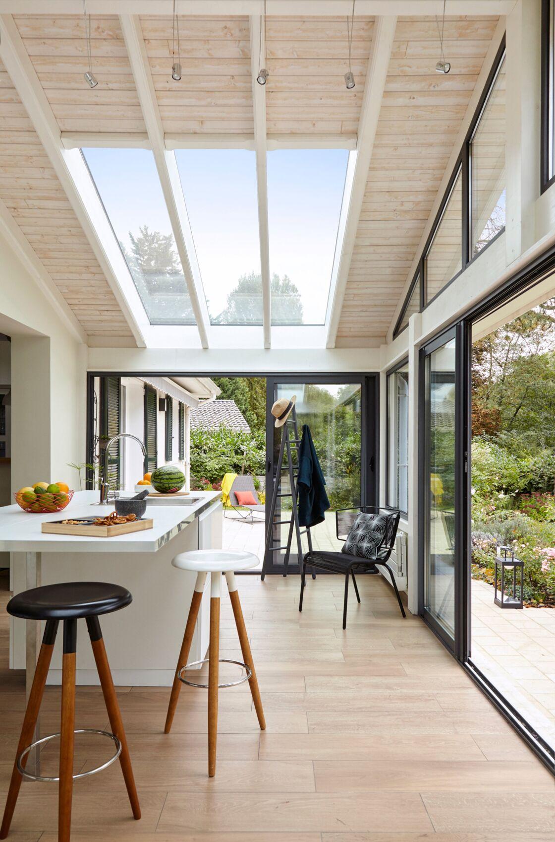 5 id es pour une v randa lumineuse femme actuelle le mag. Black Bedroom Furniture Sets. Home Design Ideas