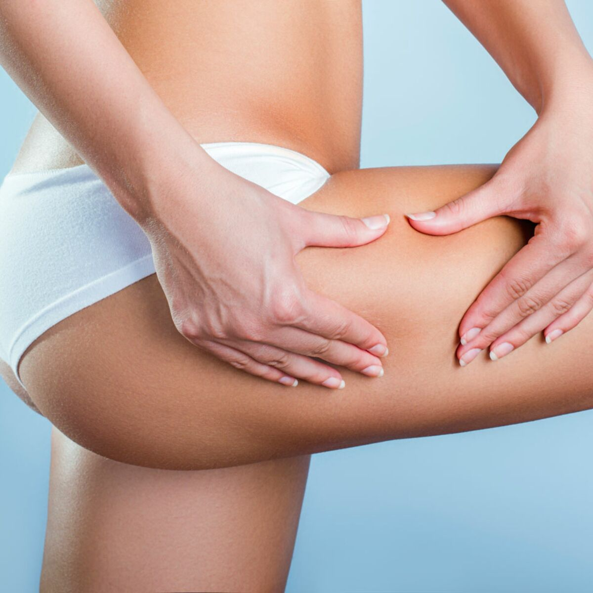 massage anti cellulite cuisse