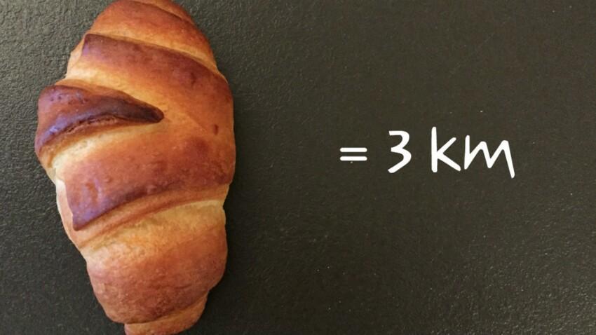 Combien de kilomètres devez-vous courir pour éliminer ces aliments ?