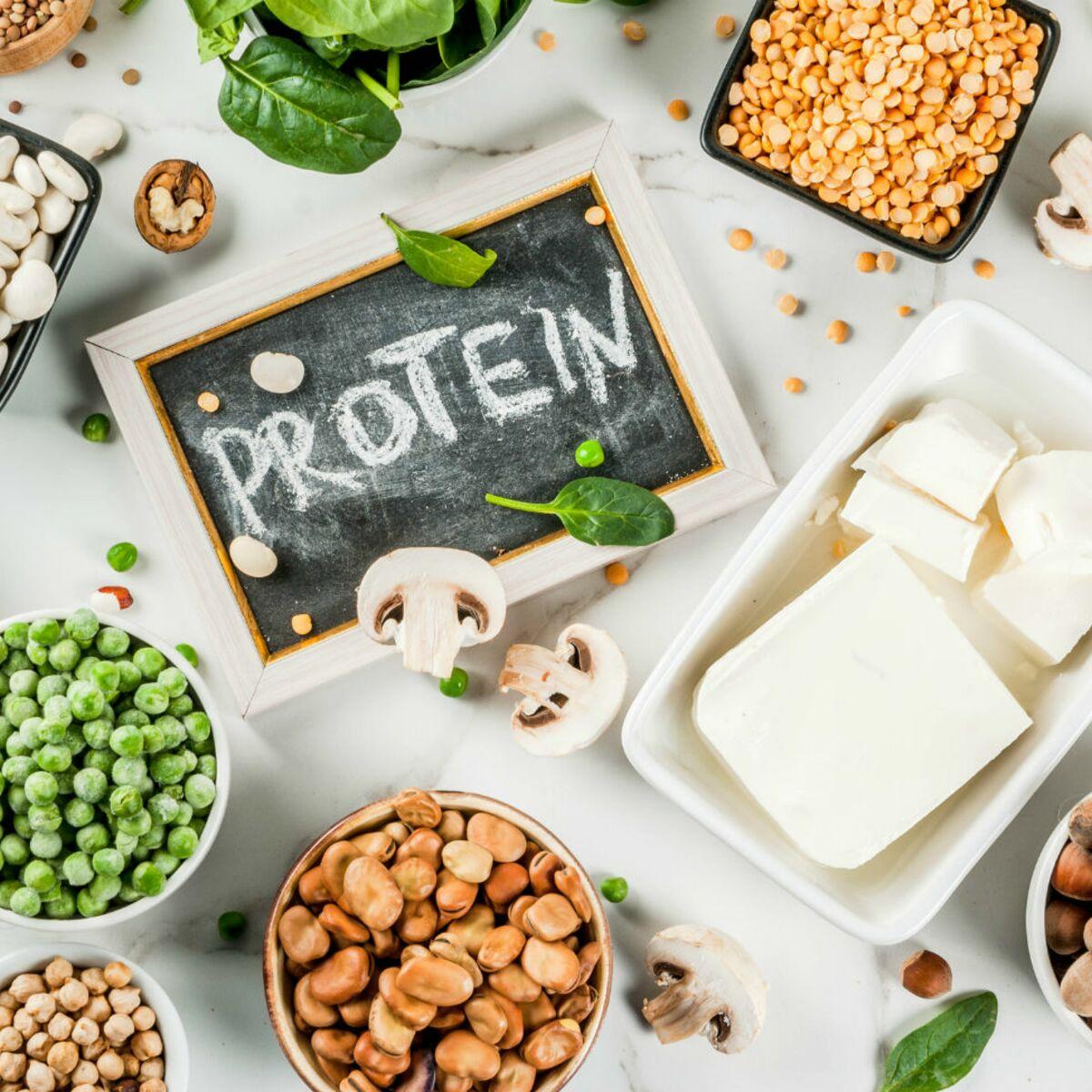 Les 13 aliments les plus riches en protéines : Femme Actuelle Le MAG