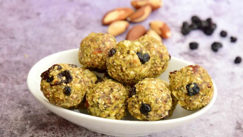 Energy balls : le snack coupe-faim ultra-rapide à préparer