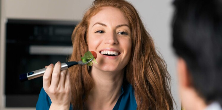 J'ai testé la fourchette qui vibre quand on mange trop vite