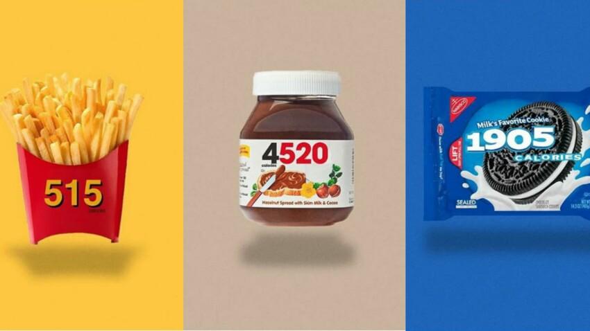 Junk food : quand les calories s'affichent (clairement) sur les emballages