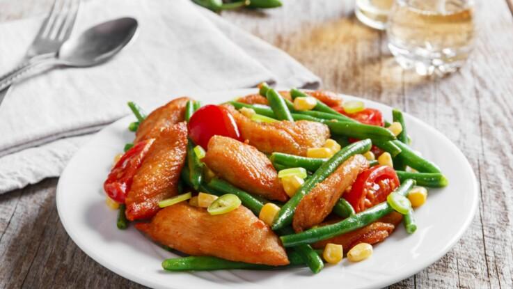 plans de dîner santé perte de poids