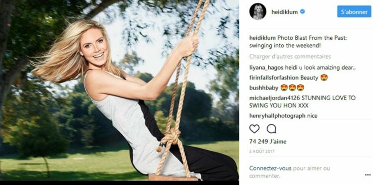 Régime de star: mince à 44 ans, comment Heidi Klum garde-t-elle la ligne?
