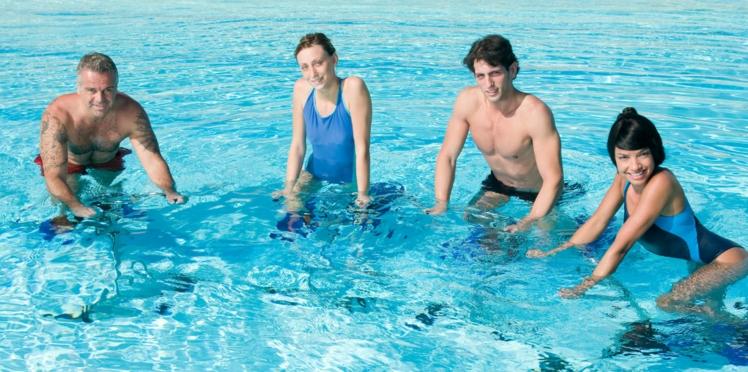 Aquabike : 4 mouvements pour affiner les cuisses