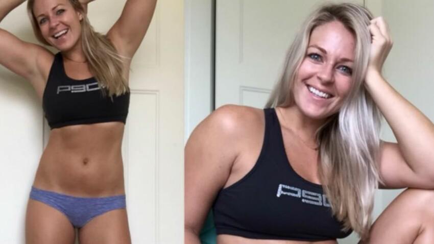Contre l'illusion du corps parfait, une coach sportive publie un photomontage saisissant