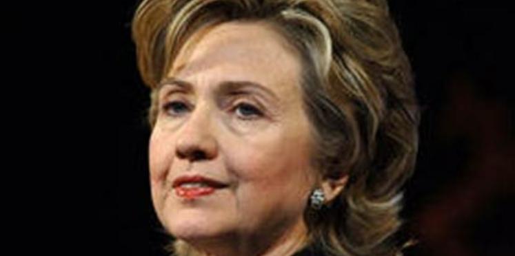 Hillary Clinton fond pour « Le Diet »