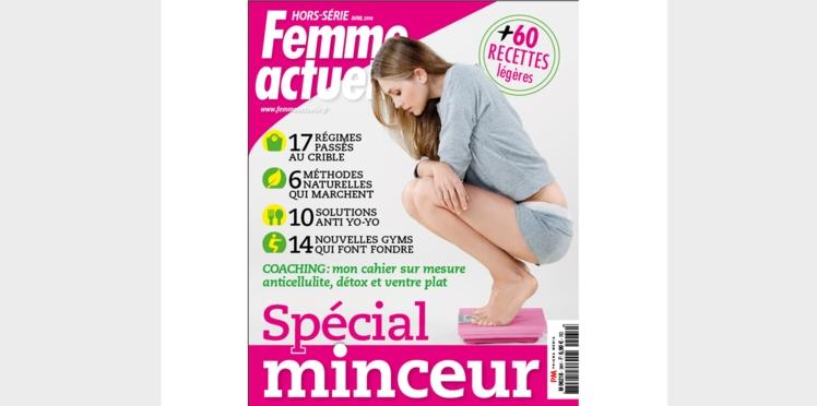 Découvrez le hors-série minceur Femme Actuelle pour atteindre votre poids idéal avant l'été