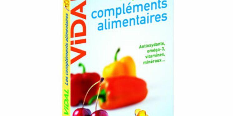 Le Guide Vidal des compléments alimentaires en librairie