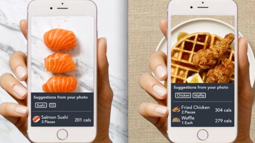 Prenez en photo votre plat et Snap It vous compte les calories