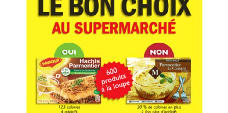 600 produits alimentaires examinés à la loupe pour manger sainement