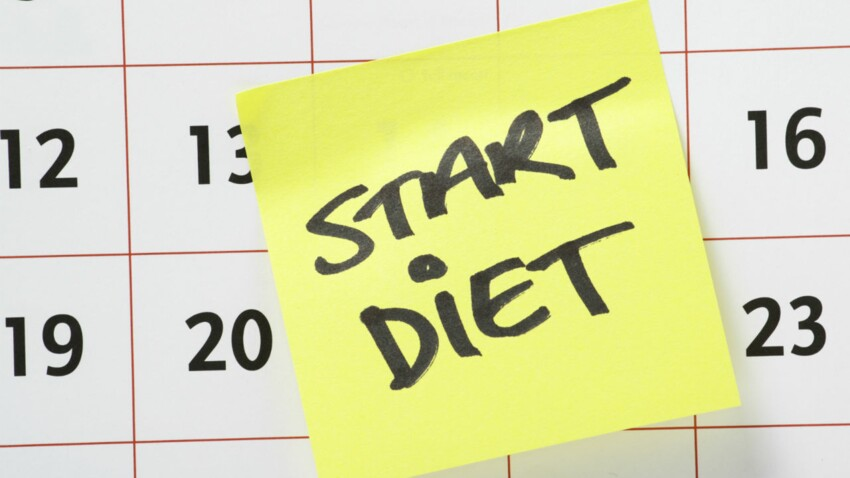 16 régimes dans la vie d'une femme