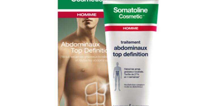 Somatoline propose un révélateur d'abdominaux pour les hommes