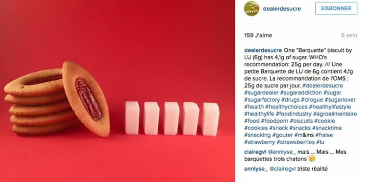 Combien mange-t-on de sucres chaque jour ? Un compte Instagram nous aide à faire le compte