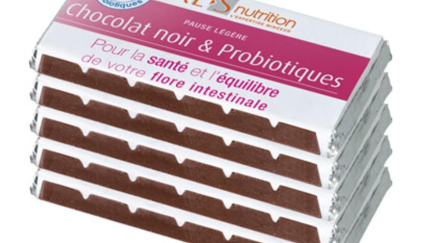 Croquez dans les tablettes de chocolat XL-S nutrition