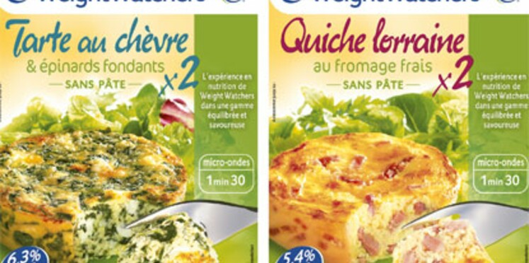 Weight Watchers lance deux tartes gourmandes