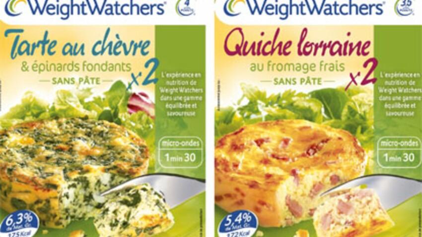 Weight Watchers lance deux tartes gourmandes