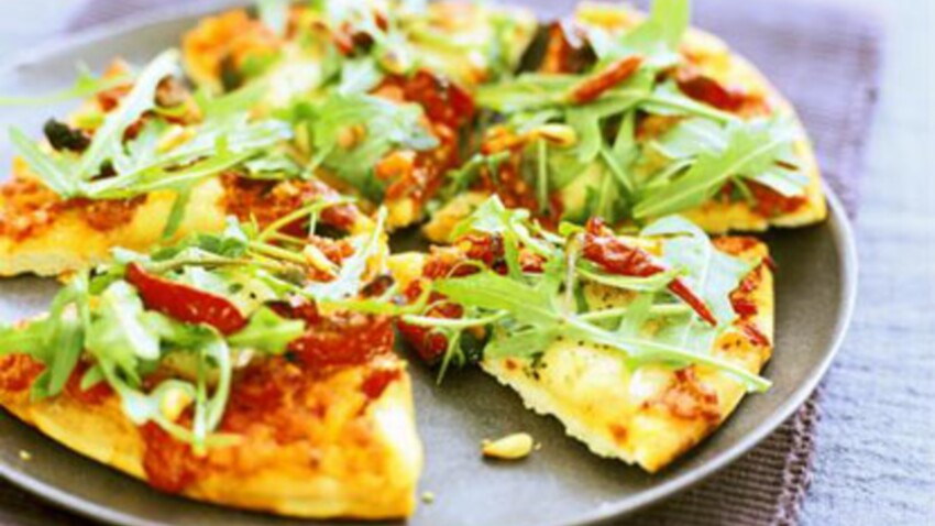 Les pizzas bonnes pour la ligne