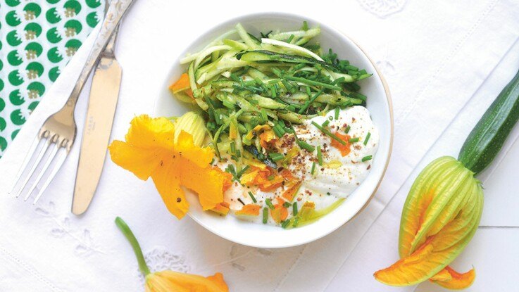 15 recettes minceur et diététiques à la courgette pour l'été
