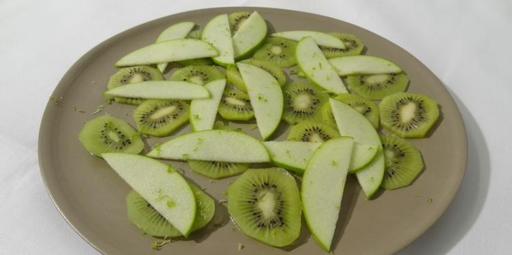 """Régime zen, semaine """"verte"""" : le dessert diététique du chef"""