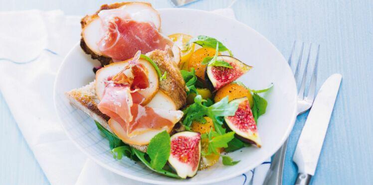 10 recettes de salades gourmandes à moins de 300 calories