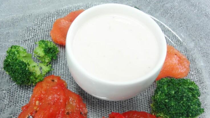 Vinaigrette allégée aux agrumes et fromage blanc