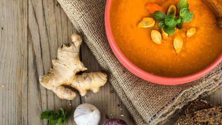 15 soupes détox pour se tenir chaud tout l'hiver