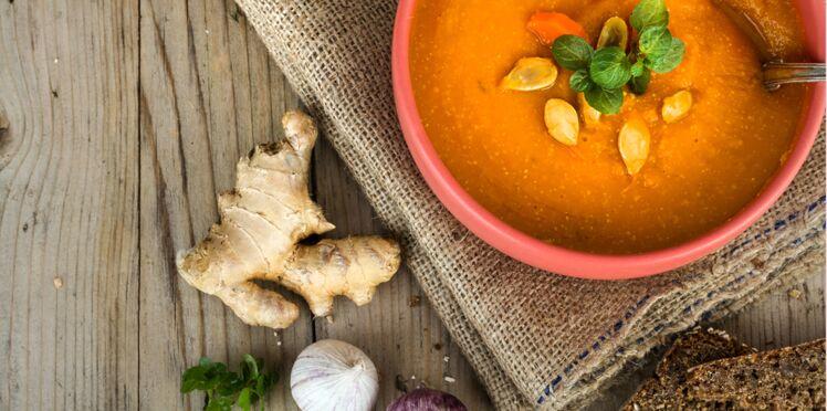 Régime soupe : 15 recettes détox pour se tenir chaud tout l'hiver
