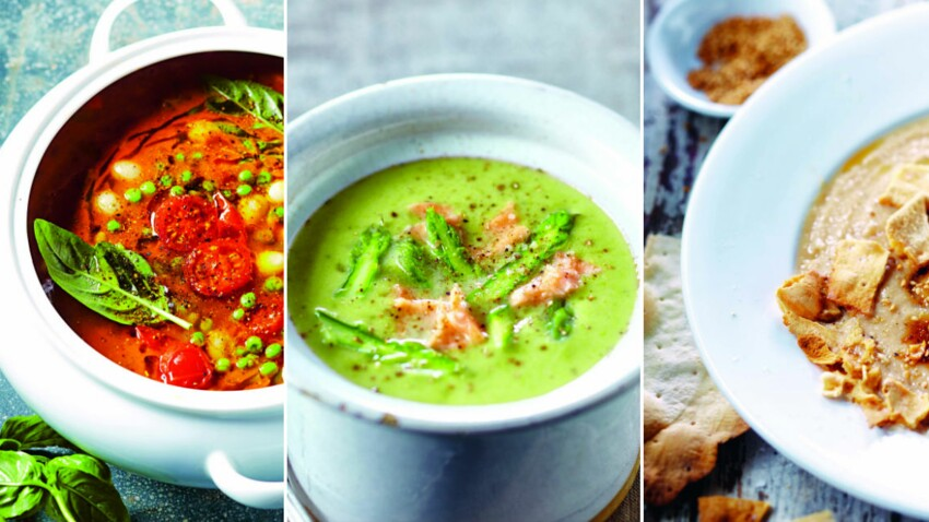 10 soupes rassasiantes pour un repas à moins de 300 calories