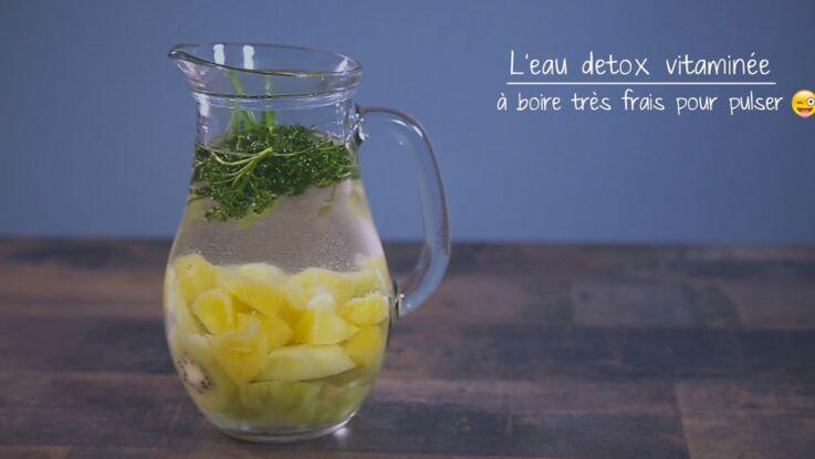 VIDEO-L'eau détox spécial vitamine C