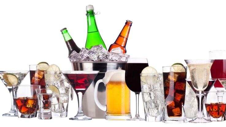 Tableau des calories : les boissons alcoolisées