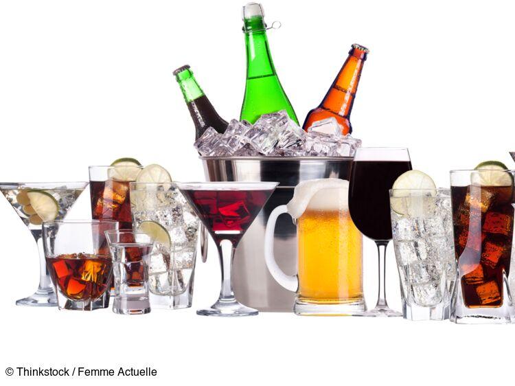 Tableau Des Calories Les Boissons Alcoolisees Femme Actuelle Le Mag