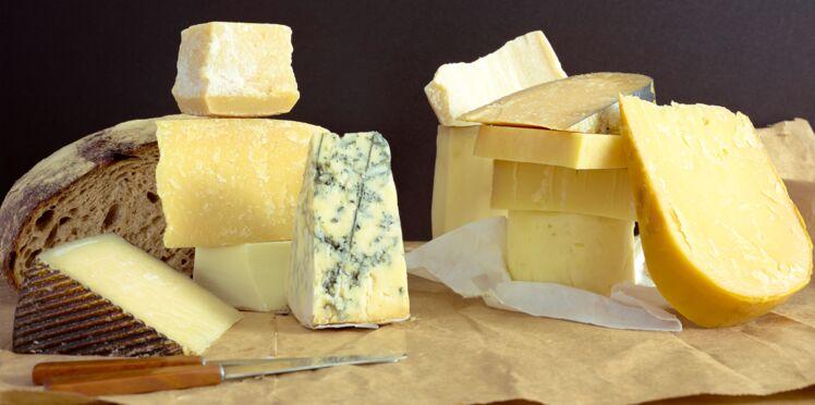 Tableau des calories : les fromages