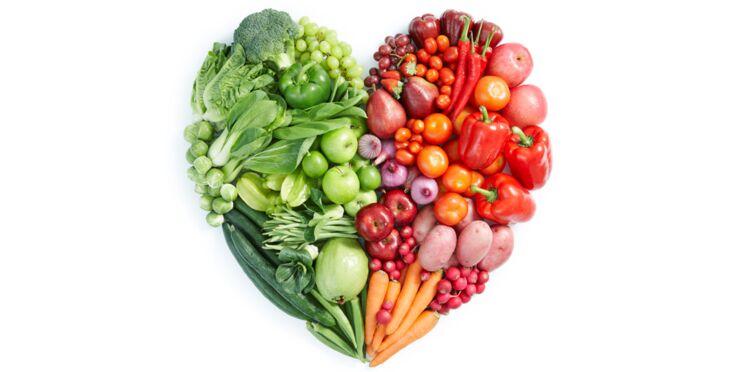 Tableau des calories : les légumes