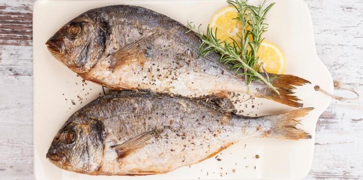 Tableau des calories : les poissons