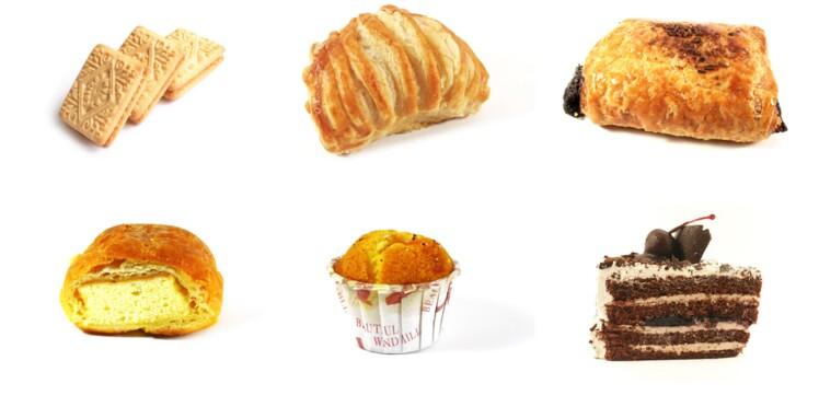 Tableau des calories : viennoiseries et sucreries