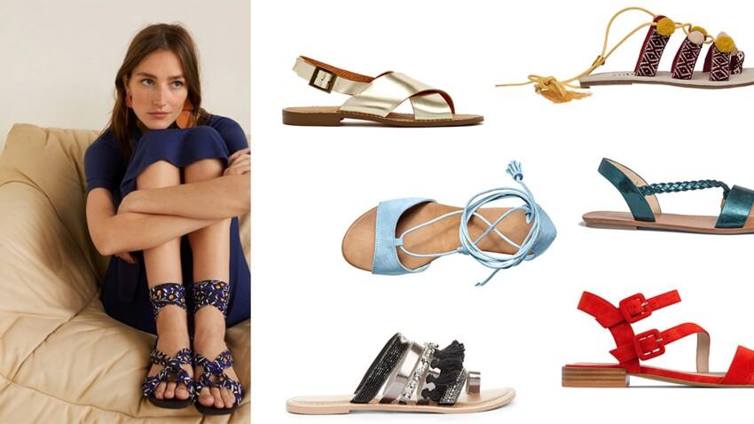 Sandales et nu-pieds : 20 modèles pour être stylée à plat cet été