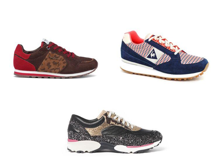 0c5ef6b8b7 Sneakers femme : 10 baskets tendance pour la ville : Femme Actuelle Le MAG