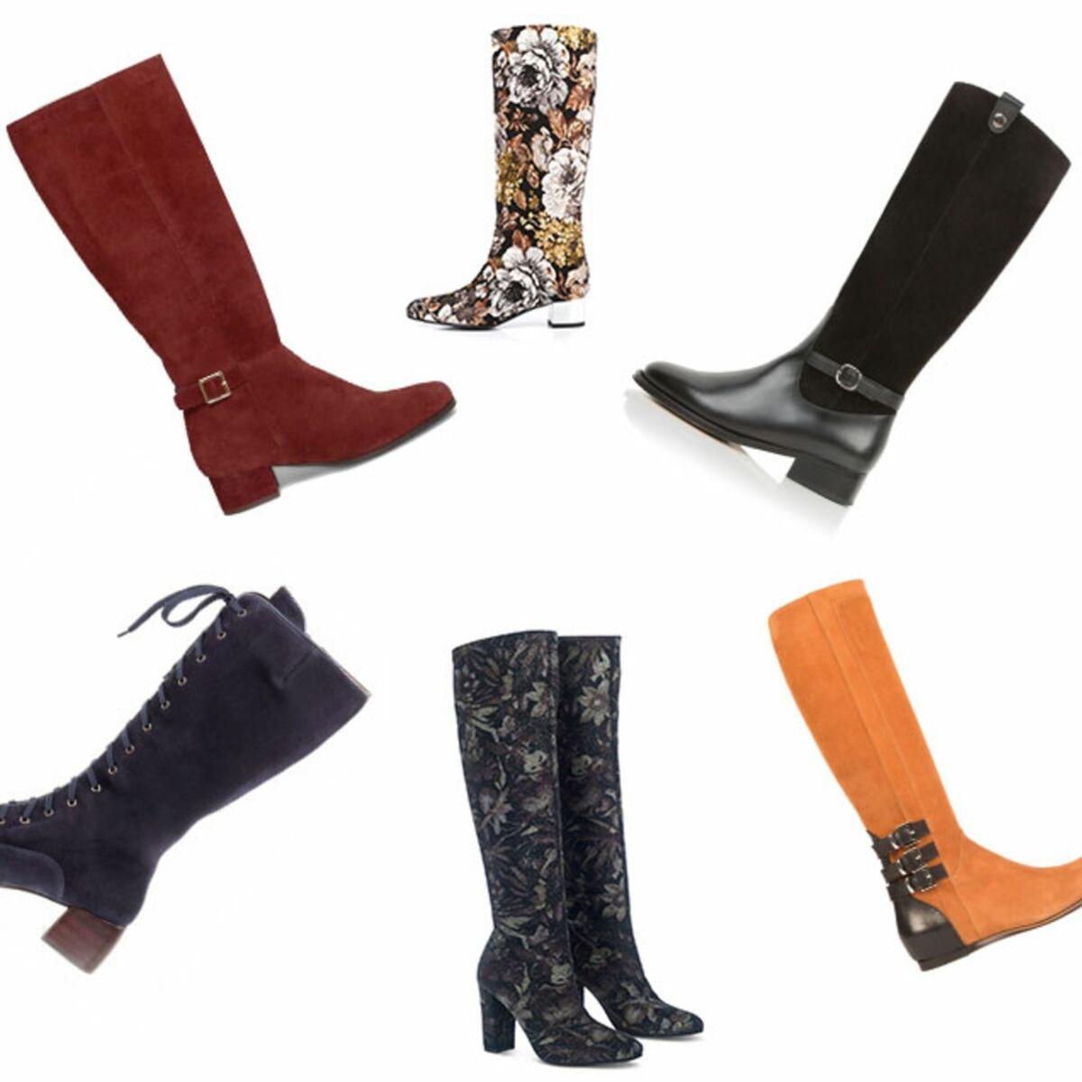 20 paires de bottes stylées à adopter cet hiver : Femme